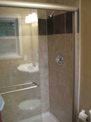 View of Master Shower