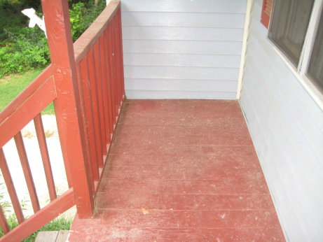 Rest of Front Porch