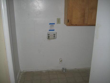 Laundry Closet in Hallway