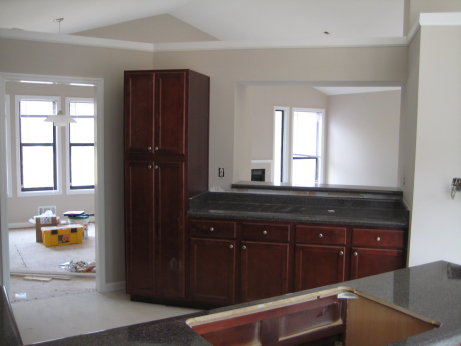 too much new kitchen cabinets