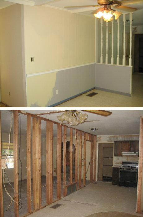 Demo of Dining Room