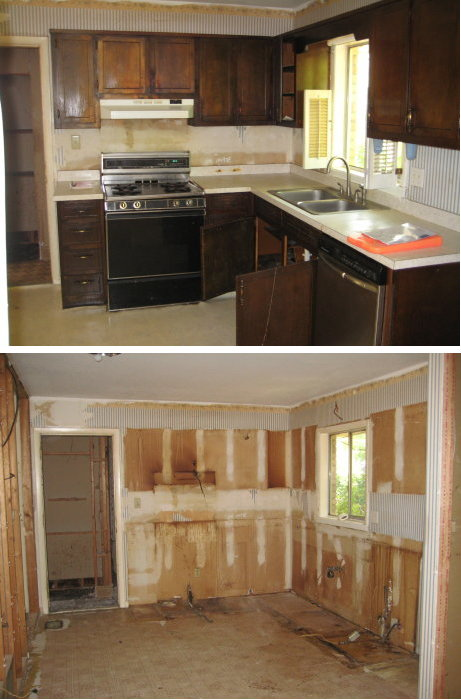 Demo of Kitchen
