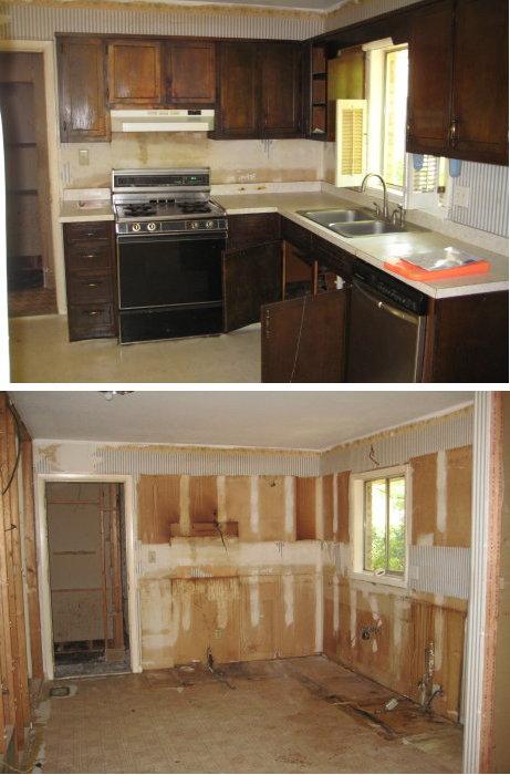 Demo of Kitchen