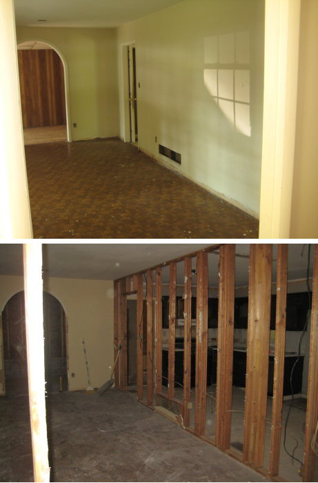 Demo of Living Room from Front